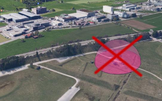 Militär sagt nein zur Benutzung des Waffenplatzes Gossau-Herisau (Breitfeld)