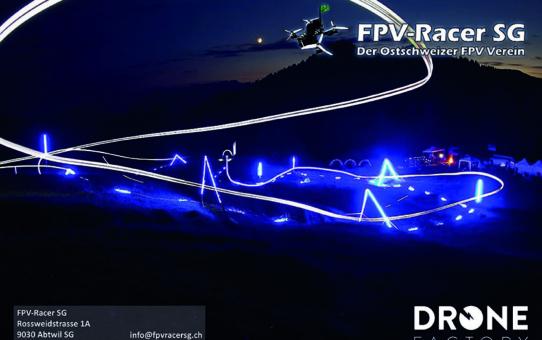 Infobroschüre von FPV-Racer SG